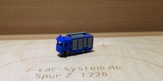 Bausatzset Scania Rüstwagen THW - blau/grau inkl.