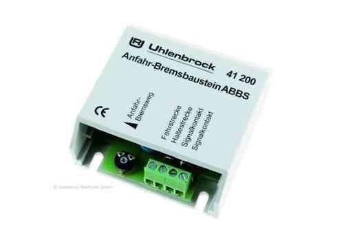 Uhlenbrock41200 - ABBS Anfahr-Bremsbaustein N - H0
