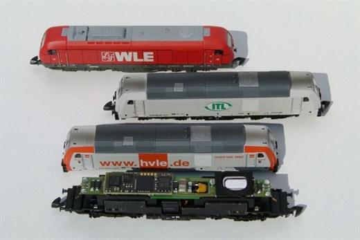 VELMO SDS48568 - Lok-/Sounddecoder für ER-20 Fam.