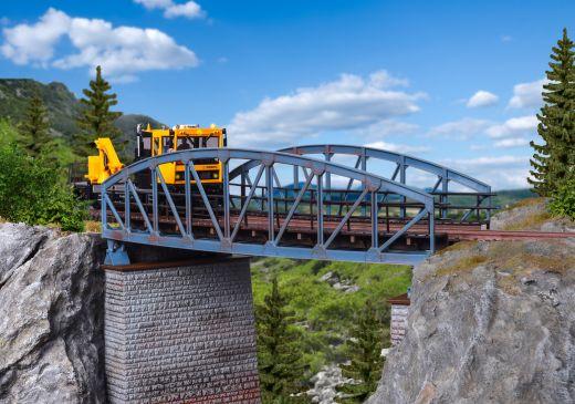 Vollmer 42540 - H0 Stahlbogenbrücke, gebogen