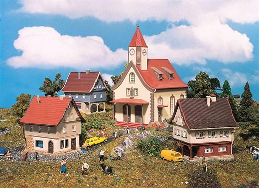 Vollmer 49555 - Z Dorf, bestehend aus 49552,
