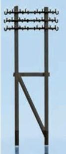 Weinert Modellbau 6885 - Telegrafenmasten