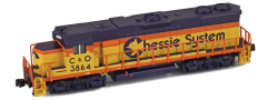 AZL 62522-4 Chessie GP38-2 C&O 3888