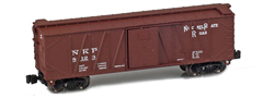 AZL 903106-1 Nickel Plate 40´ Outside Braced Boxca