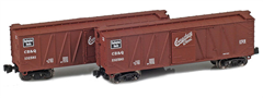 AZL 903174-1 CB&Q 40´ Outside Braced Boxcar 132581