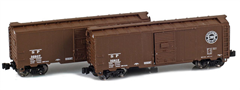 AZL 904383-1 SP 40 AAR Boxcar | 2-Car Set