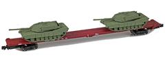 AZL 911023-3O DODX 89 Flat 41082 2x M1 loads - ol