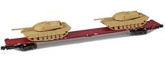AZL 911023-3S DODX 89 Flat 41082 2x M1 loads  sa