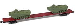 AZL 911023-4O DODX 89 Flat 41186 2x AAV-7 loads -
