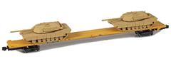 AZL 911024-3S DODX 89 Flat 42097 2x M1 loads  sa