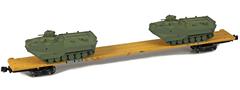 AZL 911024-4O DODX 89 Flat 42116 2x AAV-7 loads -