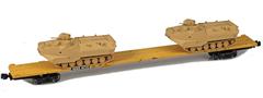 AZL 911024-4S DODX 89 Flat 42116 2x AAV-7 loads