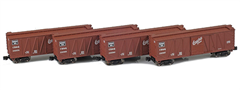 AZL 913104-1 CB&Q 40´ Outside Braced Boxcar 132578