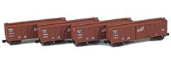 AZL 913104-2 CB&Q 40´ Outside Braced Boxcar 132565