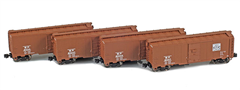 AZL 914315-1 WP 40 AAR Boxcar | 4-Car Set