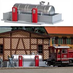 Busch 1158 - BW-Tankstelle H0