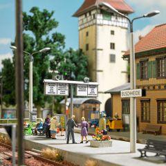 Busch 1623 - Bahnhof Ausgestaltung H0