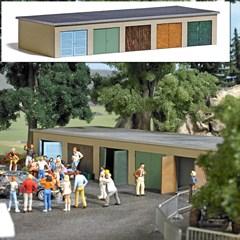 Busch 1648 - Garagenkomplex H0