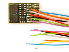 Doehler & Haass DH16A-3 Fahrzeugdecoder, 9 Litzen
