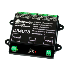 Digikeijs DR4018 - 16-kanal Schaltdecoder
