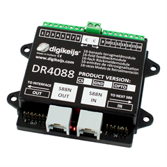 Digikeijs DR4088CS - 16-channel feedback module S8