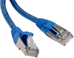 Digikeijs DR60881 - STP-Kabel 1M blau