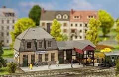 Faller 282704 - Bahnhof Hüinghausen