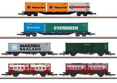 Märklin 82665 - Wagen-Set Containertransport