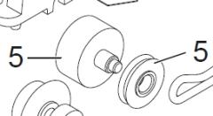 Märklin E322516 - Rad, Scheibe