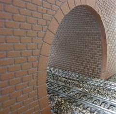 Merkur 604121 - Tunnelröhre N/Z, Felsstruktur