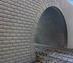 Merkur 604014 - Tunnelröhre N/Z, Quader Mauerwerk,