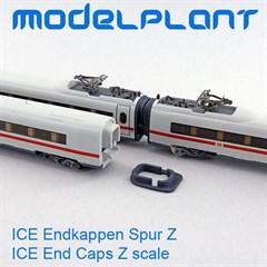 Modelplant M-0401-10 - ICE Endkappen