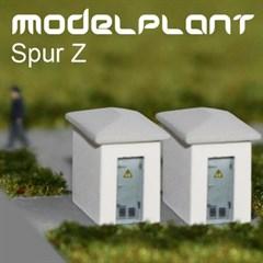 modelplant M-0503 - Zwei Schalthäuser (Eckig)