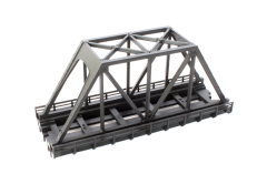 NOCH 7297090 - Kastenbrücke dunkelgrau, 110 mm