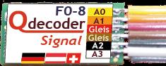 Qdecoder QD026 - F0-8 Signal Europa 1 (Litze)