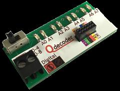Qdecoder QD082 - Debug-Leiste für F0-4 / F0-8