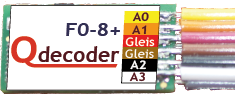 Qdecoder QD084 - F0-8+ (Litze)