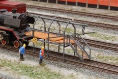 RATIMO 13004 - Rohrblasgerüst, Bausatz 1:220