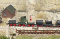 Saller 22603 - Feldbahnlore als Plateauwagen m. 2