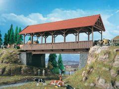 Vollmer 42515 - H0 Steegbrücke überdacht