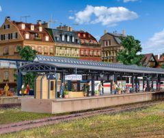Vollmer 43541 - H0 ICE-Bahnsteig Vaihingen, d