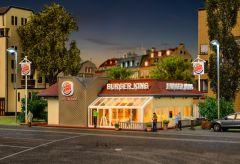 Vollmer 43632 - H0 Burger King-Schnellrestaur