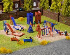 Vollmer 43665 - H0 Deko-Set Kinderspielplatz