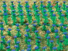 Vollmer 45117 - H0 Astern dunkelblau, 120 Stü