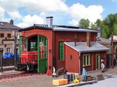 Vollmer 45750 - H0 Lokschuppen einständig