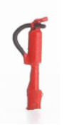 Weinert Modellbau 6868 - Feuerlöscher, 4 Stück
